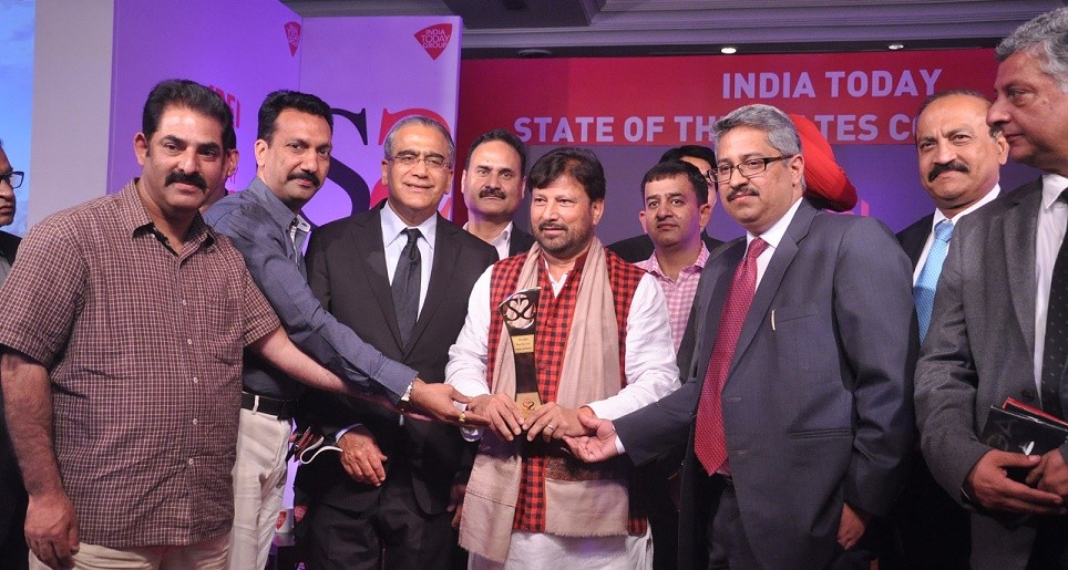 J&K Health sector has hit Bulls eye by getting  'State of States' award at India Today Enclave: Lal Singh told Cross Town News