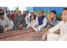 Dy CM, Ministers visit slain DSP's residence;Says culprits won't be spared