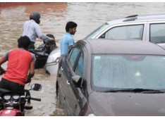 Dy CM stresses onmeasures to deal with water-logging in Jammu city