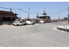 Normal life paralysed in Kashmir due to strike, restrictions