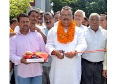 Ganga launches development works at Bari-Brahmana