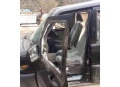 BJP workers threw ink and Stones at Er Rashid vehicle  in Bhaderwah