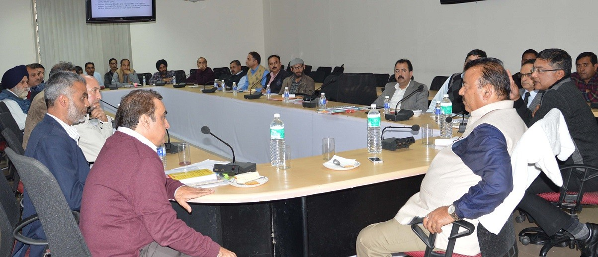 Ganga for scientific exploration of minerals in eco-friendly manner In J&K