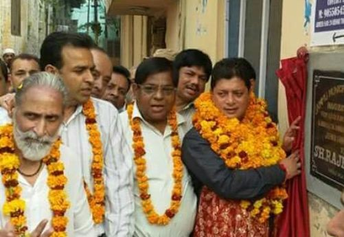 Jammu East constituency is like a bouquet of flowers: Rajesh gupta