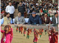 JK lifts National School Games Trophy, Ansari stresses on channelizing J&K youth's potential in right direction