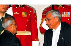 Justice TS Thakur of Jammu & Kashmir  sworn in as the Chief Justice of India