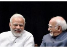 PM Modi hits out at Outgoing Vice President Hamid Ansari in trademark style