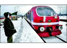 Train service suspended