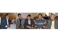 Dy CM for innovation in building technology; asks IRCON to expedite RAPDRP implementation