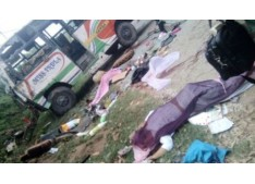 3 Students died, 20 injured in Bus accident in Samba district of J&K