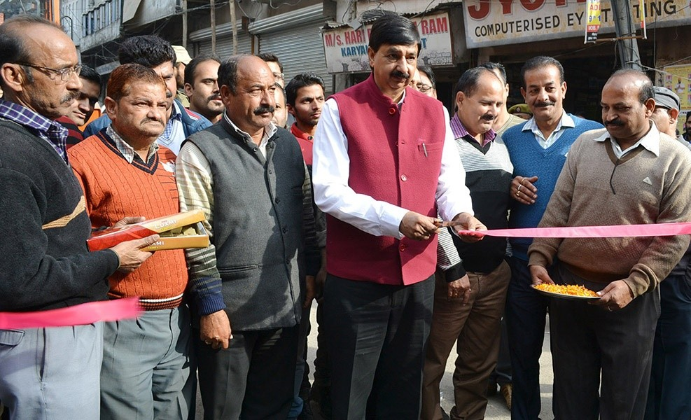 Pawan Gupta for time bound completion of works in Udhampur