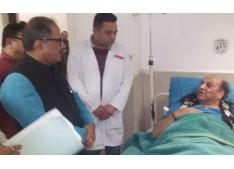 DY CM visits injured Senior PHE Engineers in GMC Jammu