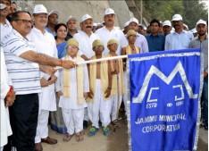 Nirmal, Kavinder, Priya participate in Jammu City Walkathon