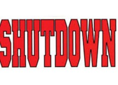 Shutdown on Monday in valley