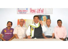 Sunil Dimple will start Jan andolan for Grant of district status to the Jammu west assembly constituency