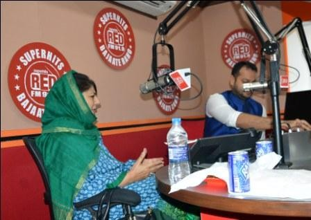 Youth my priority, intend to extend avenues to them available in other States: Mehbooba