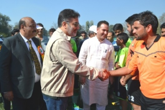 Let's Play Kicked Off Government Committed To Develop Better Sports Culture: Imran Raza Ansari