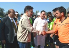 Let's Play Kicked Off; Government Committed To Develop Better Sports Culture: Imran Ansari