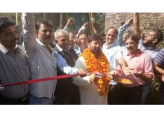 Lal Singh gets  25 km long Ghati to Suffain road's work started