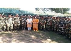 PM Modi celebrates Diwali with Soldiers in J&K's Gurez; Nirmal Singh celebrates at IB