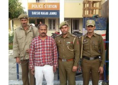 Team Jammu congratulated SSP Jammu, SP South  for exemplary work