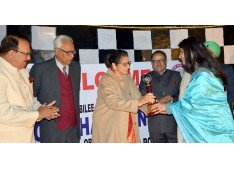 """Governor and the First Lady attend valedictory function of """"1965 War Golden Jubilee Golf Cup Championship"""" in Jammu"""