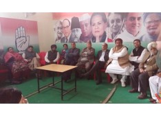 130th Congress Foundation Day Celebrated at Congress HQ in Jammu