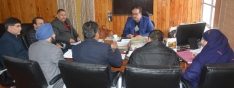 Prpl Secy I&C reviews performance of SICOP Directs for delivery of supply orders in one week time to parties ?>