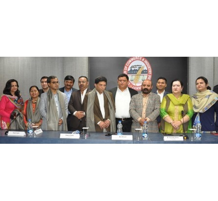 JK Govt mulls to bring doctors service policy soon: Bali Bhagat ; Jammu Chamber demands outsourcing of Super Specialty Hospital