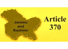 No proposal to scrap Article 370 in J&K: Centre