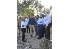DDC, Samba takes stock of development works in border areas