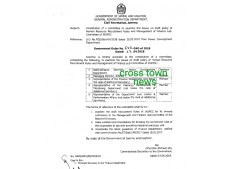 Constitution of a committee to examine the issues on draft policy of GR Recruitment Rules etc