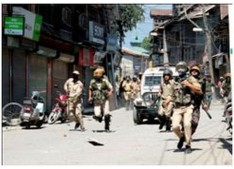 Clashes erupt after forces launch search operation in Pulwama village