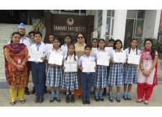 SANSKRITIANS brought laurels to JAMMU SANSKRITI SCHOOL at JMPS event