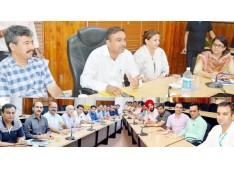 DC Jammu reviews performance of education, health deptts