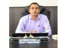 Ravinder Kumar, DC reviews the progress of Aadhaar Enable Biometric Attendance SystemDDOs to  complete it by or before 23 July