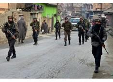 Suspected militants attack CRPF party
