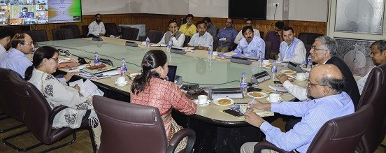 Union Secretary, CS review progress of flagship SBM; J&K to be declared ODF by September 15