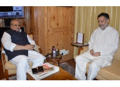 MLA Pattan Imran Ansari meets Governor
