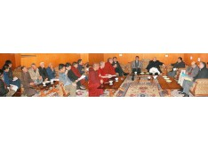 Governor meets various delegations on his maiden visit to Leh