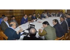 Chief Secretary reviews Durbar Move arrangements