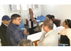 Advisor Kumar visits Govt hospitals in Srinagar city; Interacts with patient, doctors