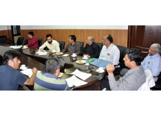 Div Com reviews status of land acquisition cases of NHAI  in Jammu