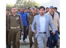 DC Rajouri visits Eidgah, reviews arrangements for Eid-e Milad