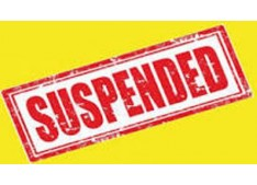 Four employees suspended for absence: Pay withheld