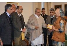 Governor grants ex-gratia of Rs. 5 lakhs to kins of ASHAs