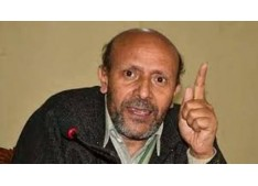 Er. Rasheed ridicules Governor for his remarks that Kashmir issue is about children having age group 13 to 23