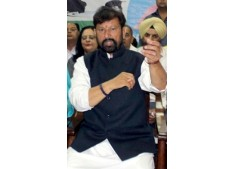 Lal Singh formally launches election campaign