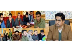 DEO Shopian appeals representatives of political parties to co-operate for peaceful and fair conduct of Lok Sabha elections