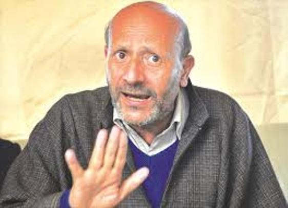 It is shameful that Mehbooba Mufti and Ali Mohammad Sagar are comparing their cadres with Mujahideen: Er Rashid